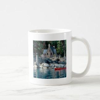 Lake Sight Seeing By Canoe Tahoe Coffee Mugs