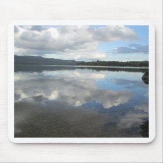 Lake Sky Reflection Mouse Pads