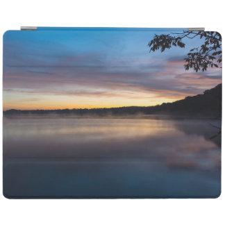 Lake Springfield Autumn Sunrise iPad Cover