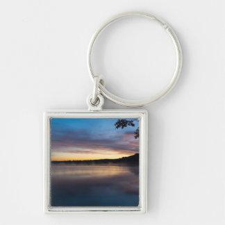 Lake Springfield Autumn Sunrise Key Ring
