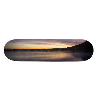 Lake Springfield Autumn Sunrise Skateboards