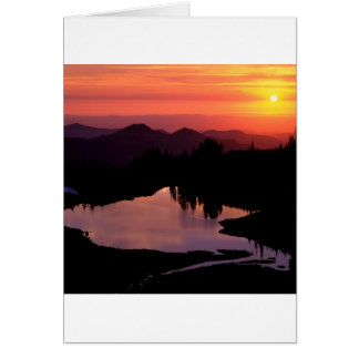 Lake St Andrews At Sunset Cards