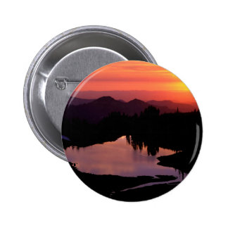 Lake St Andrews At Sunset Pin