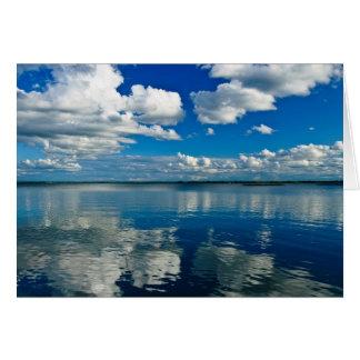 Lake Summer Afternoon Photograph Card