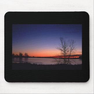 Lake Sunrise Mousepad