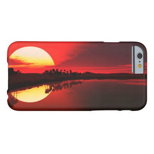 Lake Sunset Barely There iPhone 6 Case