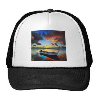 Lake Sunset Trucker Hats