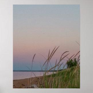 Lake Superior at Sunset Poster