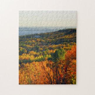 Lake Superior Autumn Jigsaw Puzzle