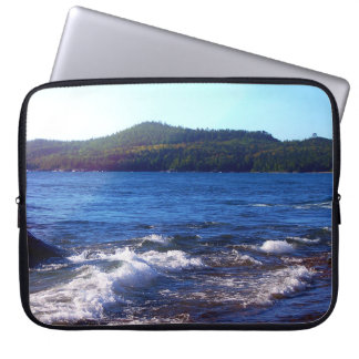 Lake Superior Landscape Laptop Sleeve