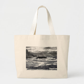 Lake Superior Lightrays Canvas Bags