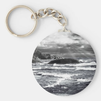 Lake Superior Lightrays Key Chain
