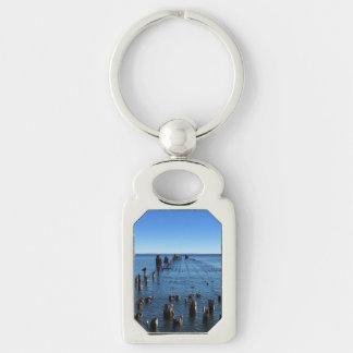 Lake Superior Michigan Key Chain