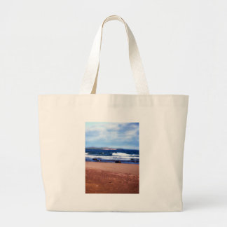 Lake Superior Shoreline Large Tote Bag