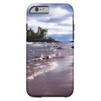 Lake Superior Shoreline Tough iPhone 6 Case