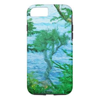 Lake Superior Spirit Tree Abstract Impressionist iPhone 7 Case