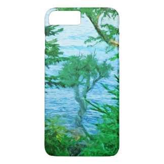 Lake Superior Spirit Tree Abstract Impressionist iPhone 7 Plus Case