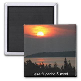 Lake Superior Sunset Refrigerator Magnets