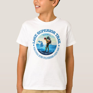 Lake Superior Trail (Hiker C) T-Shirt
