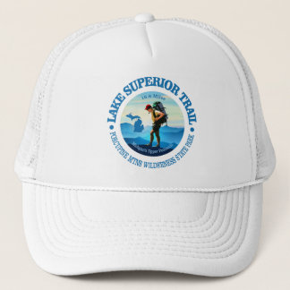 Lake Superior Trail (Hiker C) Trucker Hat