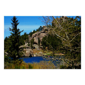 Lake Sylvan Poster from South Dakota