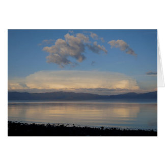 Lake Tahoe After Storm  2014 Greeting Card