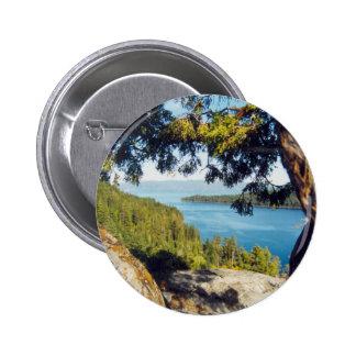 Lake Tahoe Pinback Buttons