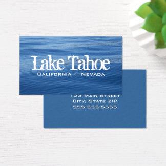Lake Tahoe Blue Water Business Card