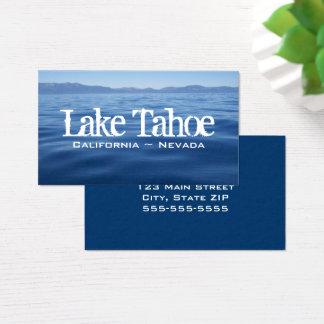 Lake Tahoe Business Card