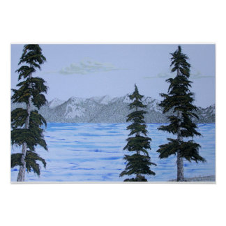 Lake Tahoe by Ed Moore Poster
