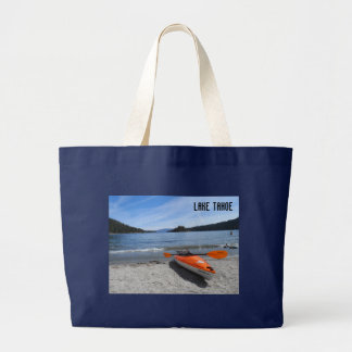 Lake Tahoe, CA Jumbo Tote Bag