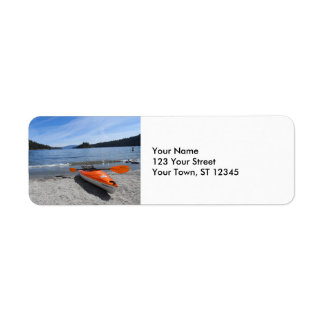 Lake Tahoe, CA Return Address Label