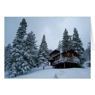 Lake Tahoe Cabin Cards