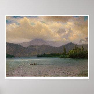 Lake Tahoe, California by Bierstadt (0102a) Poster