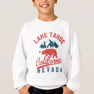 Lake Tahoe California Nevada Sweatshirt
