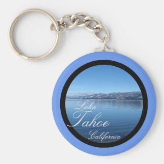 Lake Tahoe California scenic keychain