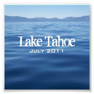 Lake Tahoe CD Insert Photo