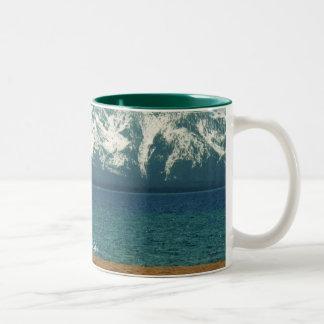 Lake Tahoe Cup/Mug Two-Tone Mug