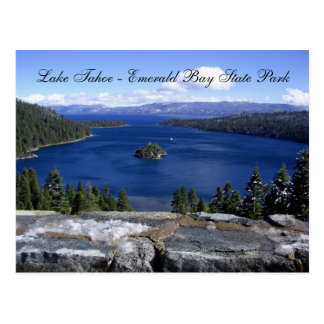 Lake Tahoe - Emerald Bay State Park Postcard
