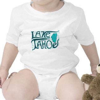 Lake Tahoe Hand Drawn Logo Baby Creeper