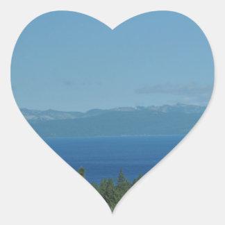 Lake Tahoe Heart Sticker