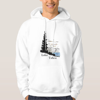 Lake, Tahoe Hooded Sweatshirts