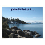 Lake Tahoe House Warming Party! 11 Cm X 14 Cm Invitation Card