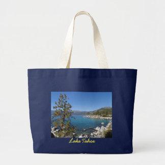 Lake Tahoe Jumbo Tote Bag
