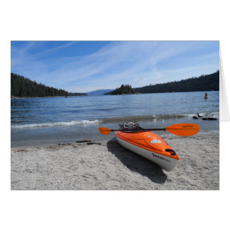 Lake Tahoe Kayak Card