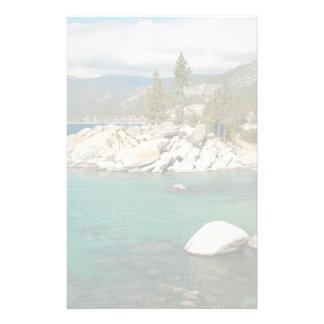 Lake Tahoe Landscape Personalized Stationery