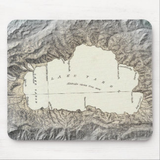 Lake Tahoe map Mouse Pad