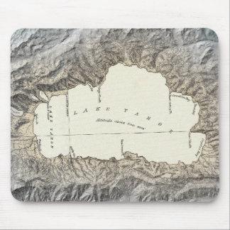 Lake Tahoe map Mouse Pad