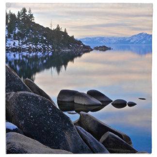Lake Tahoe Printed Napkins