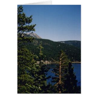 Lake Tahoe, Nevada Card